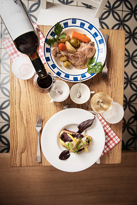 Le restaurant inattendu d'Olivier Hodebert - Dégustation de vin