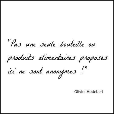 Olivier Hodebert - caviste - La maison - Cave de l'inattendu - Restaurant - Épicerie - Vertou - Nantes